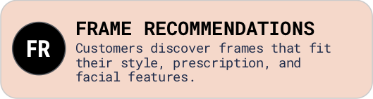 Frame Recommendations